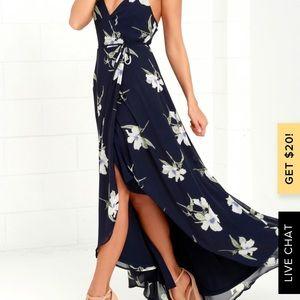 Lulus Warp High-Low Dress